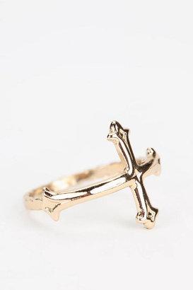 Bing Bang Victorian Cross Ring