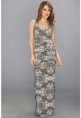 Nicole Miller Snake Symmetry Jersey Dress