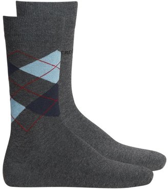 Figleaves Help for Heroes Argyle 2 Pack Socks