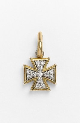 Women's Konstantino 'Classics' Diamond Cross Charm $590 thestylecure.com