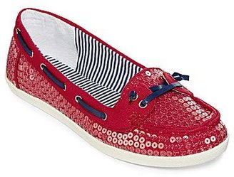 Arizona Harbor Sequin Boat Shoes