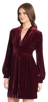 Diane von Furstenberg Helina Velvet Dress