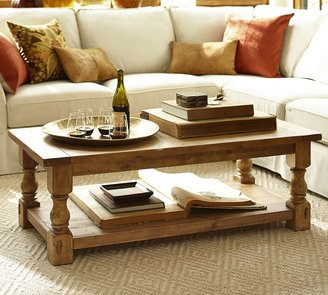 Pottery Barn Cortona Coffee Table