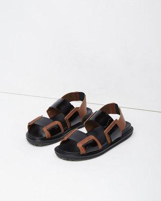 Marni Fussbett Sandal $610 thestylecure.com