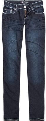 SCISSOR Squiggle Back Flap Girls Skinny Jeans