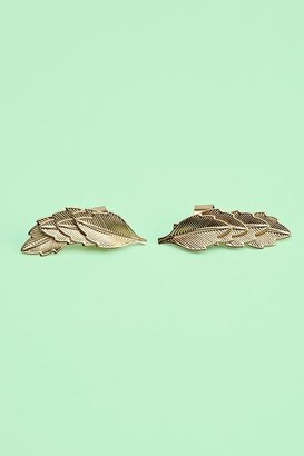 Nasty Gal Leaf Ear Cuffs