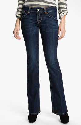 KUT from the Kloth Heavy Stitch Bootcut Jeans