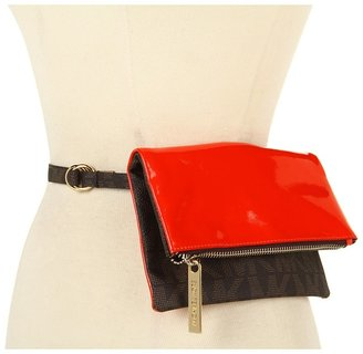 MICHAEL Michael Kors Michael Kors Logo To Pebble Belt Bag (Orange) - Apparel
