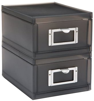 Container Store Like-it® Accessory Drawer Smoke