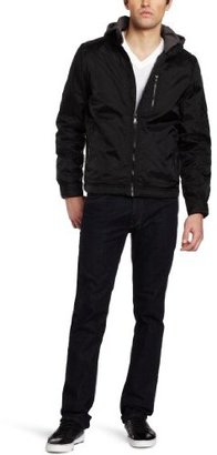 Calvin Klein Jeans Men's Nylon Hooded Jacket
