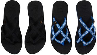 Teva Olowahu 2-Pack (Mbob/Antiguous Birch) Women's Sandals