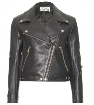 Acne RITA LEATHER BIKER JACKET