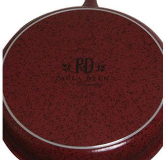 Paula Deen 12-in. Nonstick Signature Porcelain Open Deep Skillet, Red