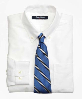 Brooks Brothers Non-Iron Supima® Oxford Button-Down Dress Shirt
