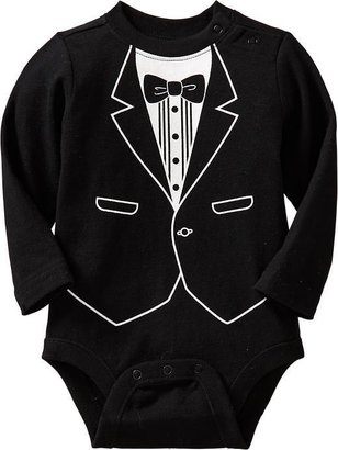 Old Navy Shirt & Tie Graphic Bodysuits for Baby