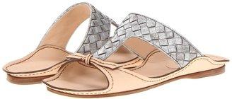 Bottega Veneta Flat T-Strap Sandal Women' Dre Sandal