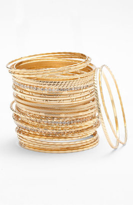 Tasha Bangles (Set of 36) Gold