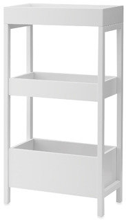 Bed Bath & Beyond Real Simple Three-Tier Storage with Top Tray