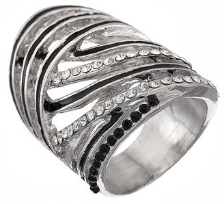 Topshop Wave Stone Ring