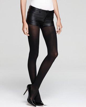 Blaque Label Leather Shorts