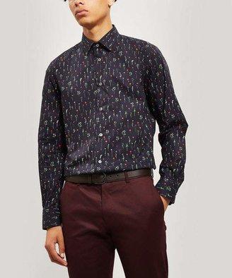 Paul Smith Floral Slim-Fit Cotton Shirt