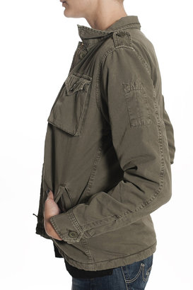 Hartford Army Surplus Jacket Army Green