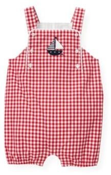 Janie and Jack Gingham Shortall