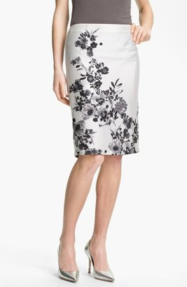 Vince Camuto 'Graphic Garden' Pencil Skirt