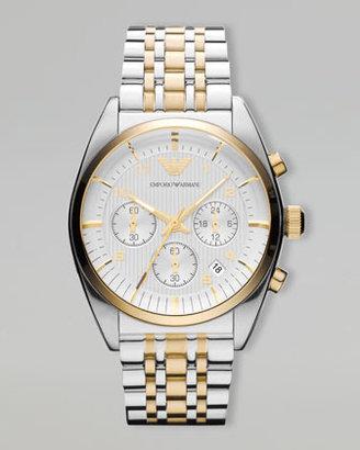 Emporio Armani Two-Tone Classic Chronograph Watch