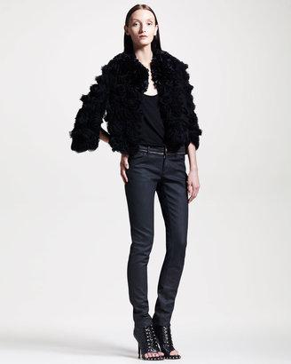 Givenchy Zip-Trim Skinny Jeans