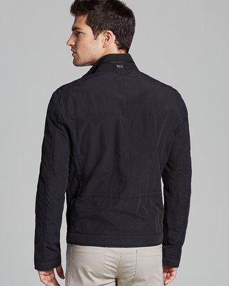 HUGO BOSS Capontz Short Biker Jacket
