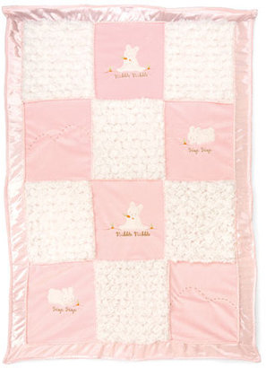 Bunnies by the Bay 'Nibble, Nibble' Stroller Blanket