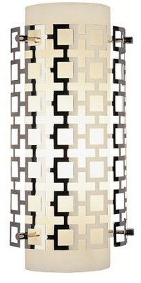 Jonathan Adler Parker Half Round Sconce by Open Box