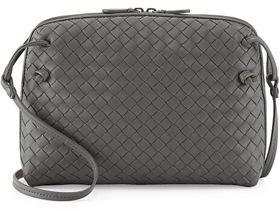 Bottega Veneta Intrecciato Messenger Bag $1,580 thestylecure.com