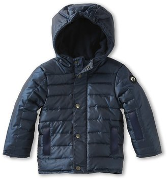 Appaman Kids - Boys' Expedition Down Fleece Lined Coat (Toddler/Little Kids/Big Kids) (Galaxy) - Apparel