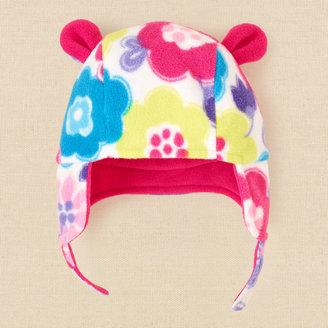 Children's Place Floral glacier fleece hat