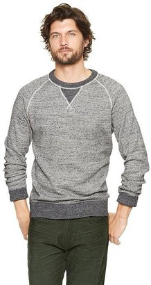 Gap Heathered crew sweater