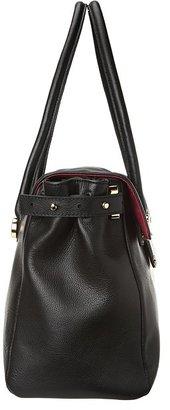Knomo London Battersea - Valencia Leather Shoulder Bag