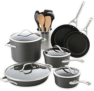 Calphalon Contemporary 8-pc. Hard-Anodized Nonstick Cookware Set + BONUSES