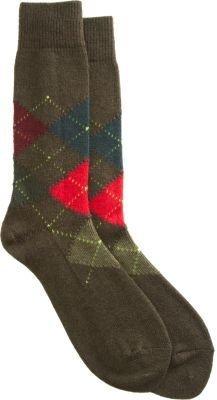 Paul Smith Argyle Knit Socks