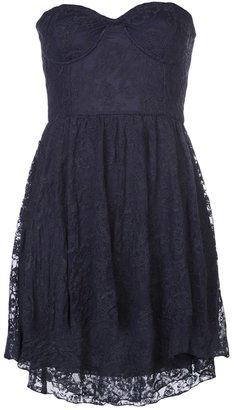 Motel Rocks strapless lace dress