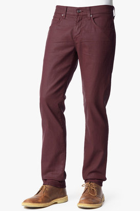 7 For All Mankind The Straight In Coated Wine