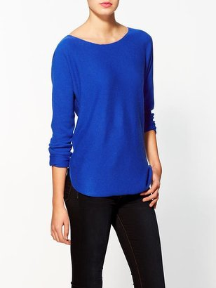 Vince Shirt Tail Cashmere Sweater