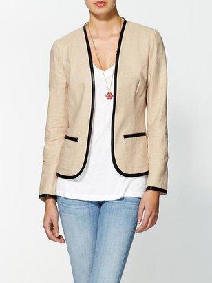 Vince Tinley Road Metallic Linen Jacket