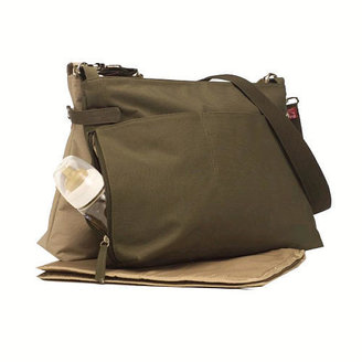 Babymel X2 Diaper Bag - Army/Sand