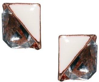 Asos Mini Rectangle Earrings