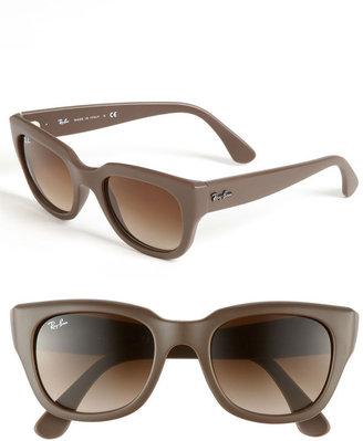 Ray-Ban 52mm Retro Sunglasses Black/ Grey Gradient One Size