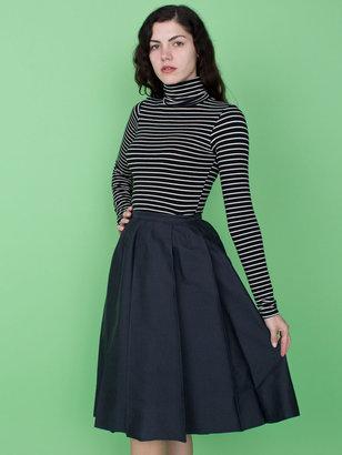 American Apparel Vintage Mid-Length Pleated School Girl Skirt
