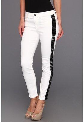 Joe's Jeans Diamond Tux Skinny Ankle (White) - Apparel