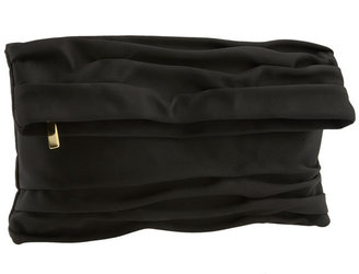 Nordstrom Pleated Satin Clutch